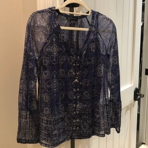 INC Concepts Long Sleeved Blouse